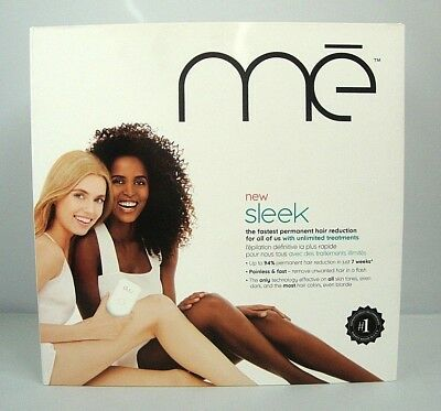 Iluminage Touch Permanent Hair Reduction Device, me Sleek FDA Cleared Sealed