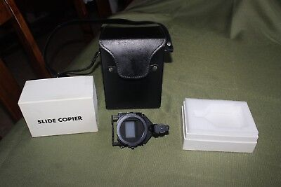 MINT Asahi Pentax slide copier with shaft, in original box and carry case.
