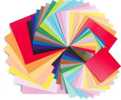 A4 Best Quality 160gsm Coloured Card Craft Printer Copier 23 Colours - Pack 50
