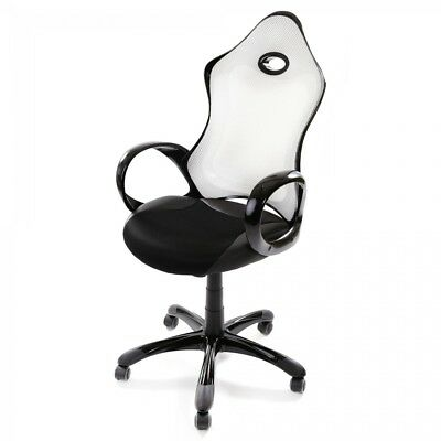 Office Chair Executive Racing PU Computer Adjustable Gaming Silverstone MY SIT