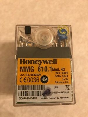 Honeywell MMG 810.Mod.43  Burner Control Unit 220-240vac
