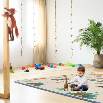 Play mat rug with alphabet two-sided foam carpet for kids Circus Baby Vivo