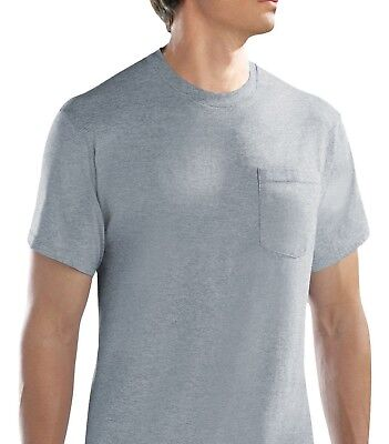 Fruit of the Loom Men's Pocket T-shirts 6-pack M-3XL in Famous Brand Packs