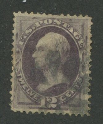 1870 US Stamp #151 12c Used VF Short Perfs Catalogue Value