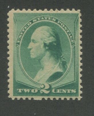 1887 US Stamp #213 2c Mint Never Hinged Very Fine Catalogue Value
