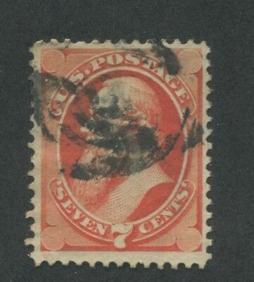 1871 US Stamp #149 7c Used VF Perf 12. Catalogue Value