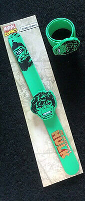Original Marvel Super Hero Hulk Snap Band Bracelet / Party Bag Toy Free Postage