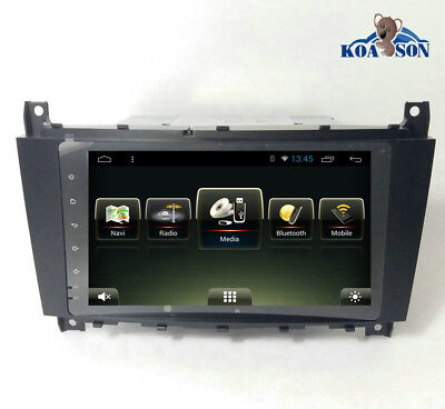 """8"""" HD Android 7.1 Car GPS Navigation USB Radio For Benz C CLC G Class W203 W467"""