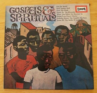 "Gospels & Spirituals, EUROPA  E169 Vinyl LP ""The Pennsylvania Gospel Group"""