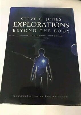 "New sealed Steve G. Jones EXPLORATIONS "" Beyond the Body "" complete  7 Cd set"