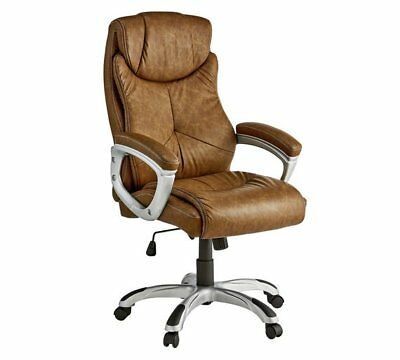 X Rocker 2.1 Sound System Executive Office Chair With Sound - Brown