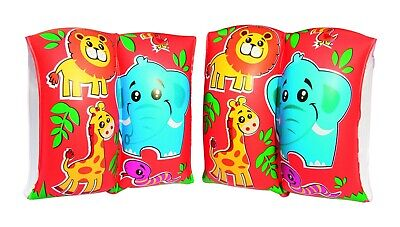 Kids Toddlers Colourful Inflatable Swimming Float Turtle Armbands Learn To Swim