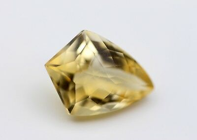 7.98 Ct Natural Topaz Brazil Yellow Color Citrine Fancy Loose No Heat Gemstone