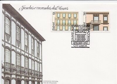 Portugal Stamp FDC 1987