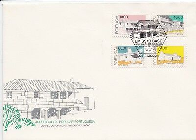 Portugal Stamp FDC 1987 - Ordinary Emission - Group 3