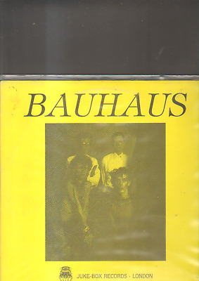 BAUHAUS - live in england 8/11/1980 LP clear vinyl