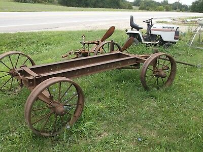 Hit Miss Engine Truck -  Cart wagon large size for bigger engines