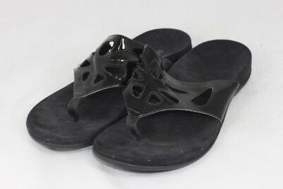 ef4800187de1 Women s Vionic with Orthaheel Maui Black Sandals UK 9   EU 42   V1287