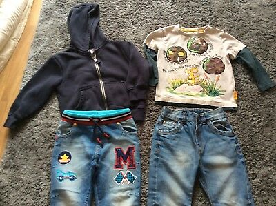 8c86a13023 BOYS CLOTHES BUNDLE Age 3-4 Years Jeans Tops Hooded Jacket Next Gruffalo  George