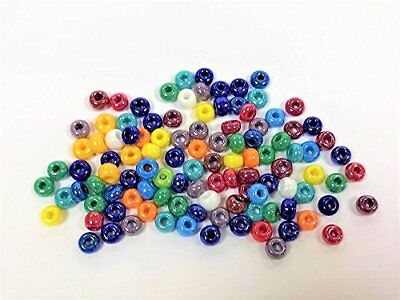Gutermann Seed Bead Mult-Coloured Mix 6.6mm Beads, 23g Tube
