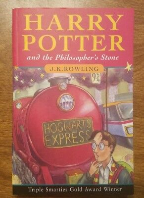 Harry Potter and The Philosopher's Stone SoftCover 1st Edition 76th Print UK