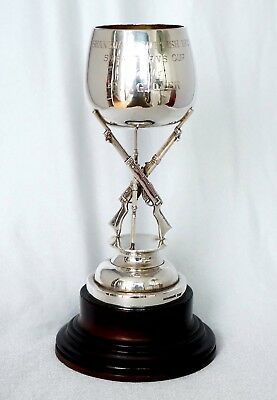 Tuck Chang Chinese Export Silver Trophy. Shanghai Scottish Volunteer Corps 1923.