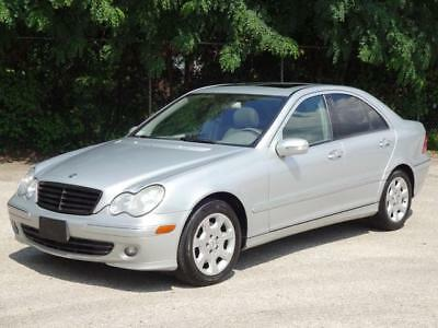 2006 Mercedes-Benz C-Class C280 4MATIC AWD 4WD Luxury Sedan LOADED! 83K Mls! UNROOF LEATHER HEATED SEATS USB/AUX-INPUT HOME LINK KEYLESS ENTRY COLD AC C-280