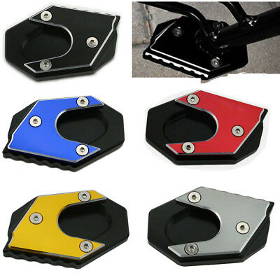 Kickstand Side Stand Enlarge Extension Footpad Pad For KYMCO Xciting 250 300 400