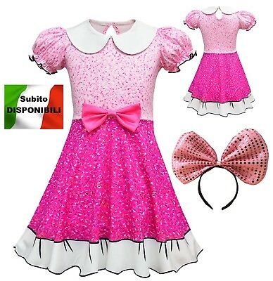 Simile Lol Fancy Vestito Carnevale Bambina Tipo Lol Dress up Cosplay LOLFAN1
