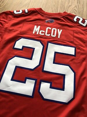 BUFFALO BILLS LESEAN McCoy #25 Red Color Rush STITCHED Nike NFL  hot sale