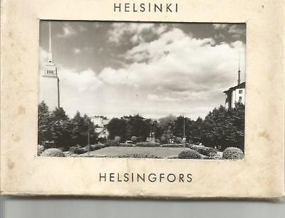 Set of 10 Helsinki Famous Landmarks Black and White Pictures