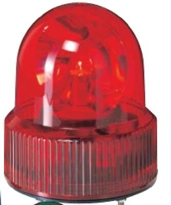 Patlite SKHB-120A-R+FA001 Rotating Beacon, w/Alarm -RED