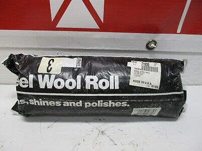 3-2Lb Steel Wool Rolls Grade #3 Coarse 12 Cu Feet 71930 New
