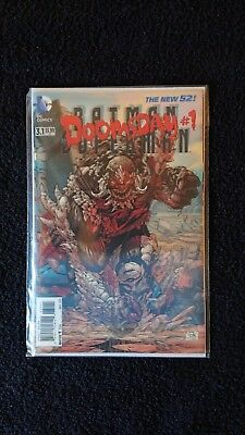 Doomsday #1 Nov 2013 Lenticular Cover 3.1 Dc Comics