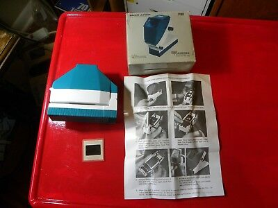 PACER JUNIOR 35MM FILM STRIP VIEWER slides photos pictures NO-LIGHT