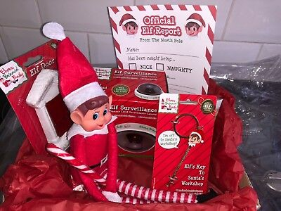 elf christmas package brand new 7 items in the wrapped package