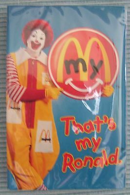 "Mcdonald's ""that's My Ronald"" 5 Song Cassette Tape, Mint In Unopened Package"