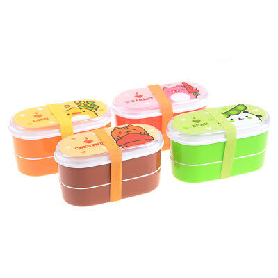Cute variety cartoon animal lunch box food container storage bento box 3T
