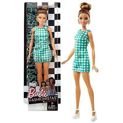 Mattel Year 2016 Barbie Fashionistas 12 Inch Doll - TERESA (DVX72) in Green Emer