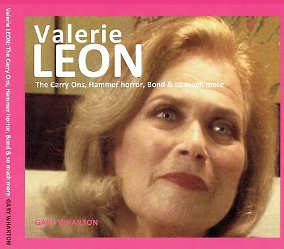 Valerie Leon : NEW Illustrated book all about her career : Carry On Hammer 007