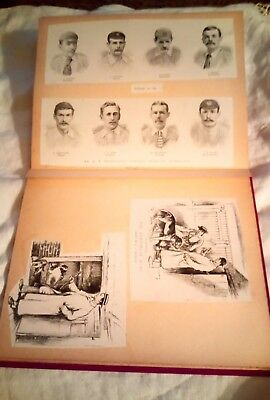 Vintage Scrapbook With 19Thc Cuttings