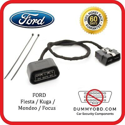 Ford Fiesta | Kuga | Mondeo DUMMY OBD PORT anti theft security alarm OBD2 lock