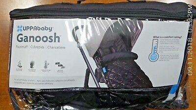 UPPAbaby Ganoosh Footmuff, Jake Black - READ DESC (R424)