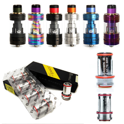 Uwell² Crown 3 III Sub-Ohm Tank | 5mL | Authentic | US Seller | Free Shipping