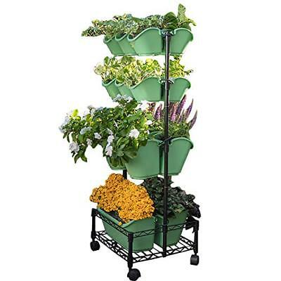 Watex Mobile Green Wall- Double Frame Spring Bouquet