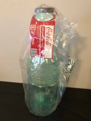 Large 2 Foot Tall Coke Cola Bottle Piggy Bank Authentic Coca Cola Product