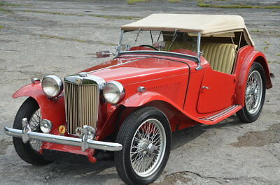 MG TC  Beautiful Solid Older Restored Number Matching MGTC