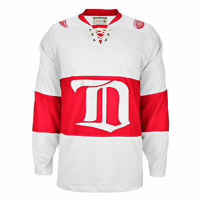 NHL Detroit Red Wings CCM Climalite Authentique Team Classic Maillot Unisexe