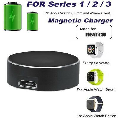 For Apple Watch Series 1/2/3/ iWatch Magnetic Fast Charger Stand/Cable 38/42mm'