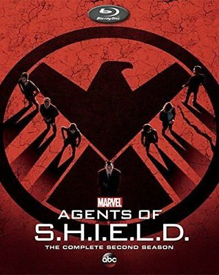 Marvel AGENTS OF S.H.I.E.L.D. The Complete SECOND Season New BLU-RAY Shield 2